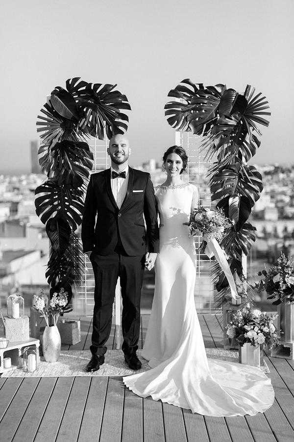 Urban Jungle Wedding Styled Shoot
